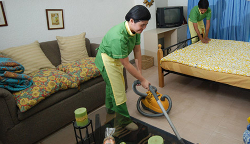 Scholars Finish Housekeeping Skills Training  Housekeeping Skills